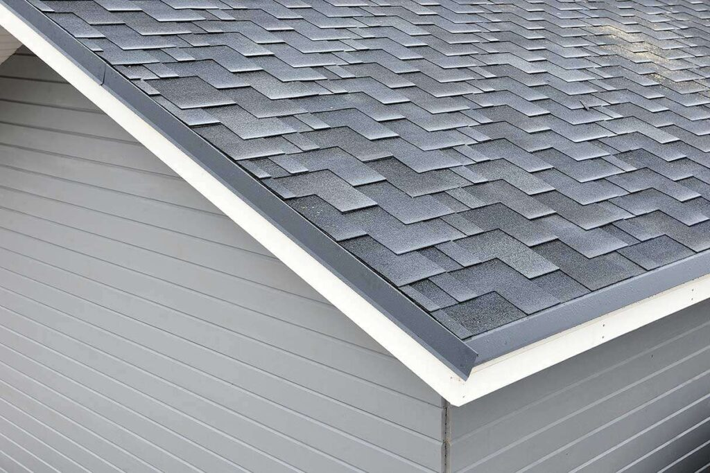 Fully completed new roof